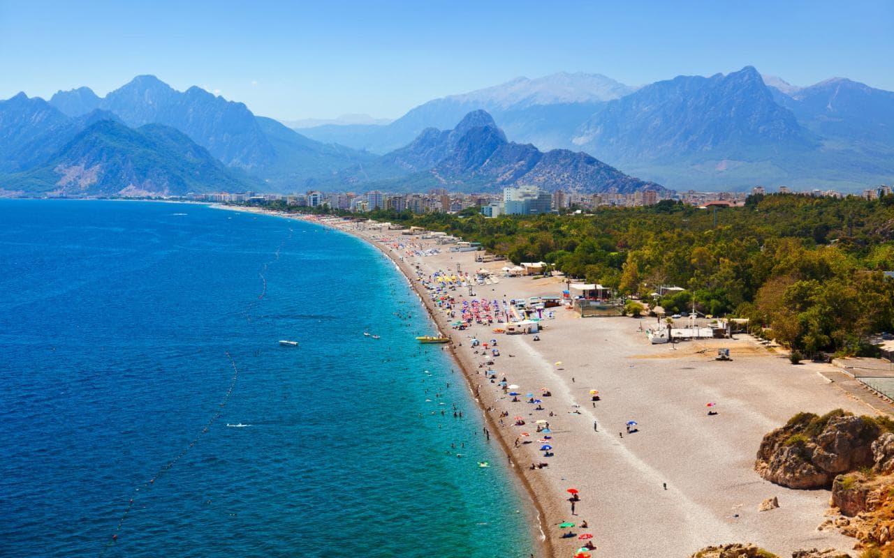 آشنایی با ترکیه - آنتالیا