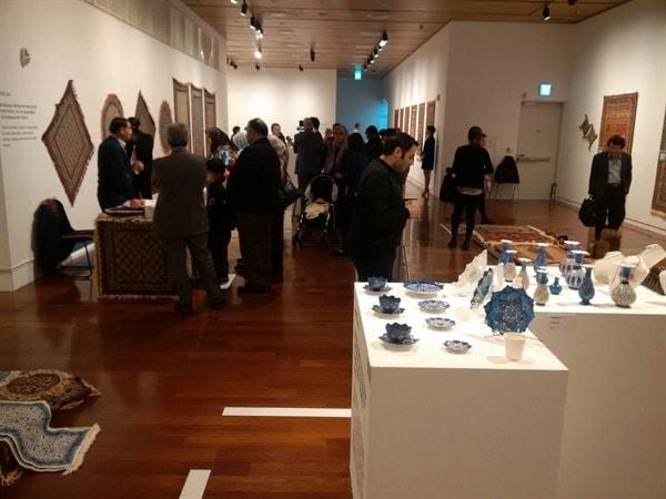 افتتاح نمایشگاه صنایعدستی ایران در شهر سئول