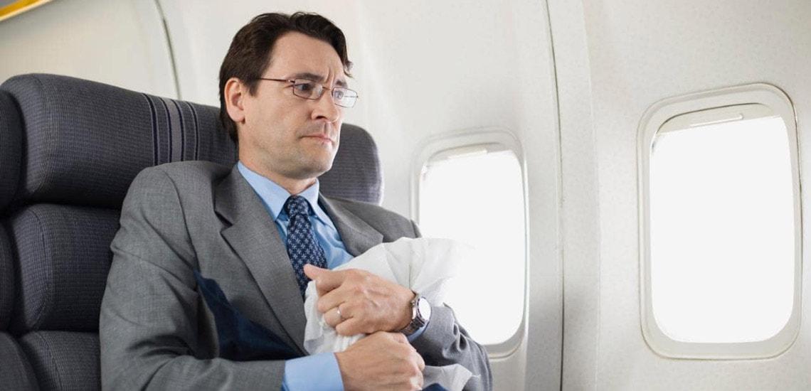 مقابله با ترس از هواپیما