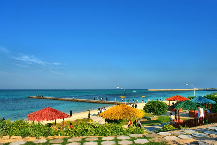 گردشگری در کیش - ساحل 1