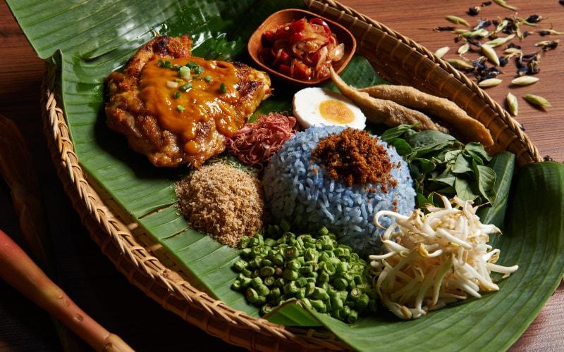 ناسی کرابو -شکم گردی در مالزی