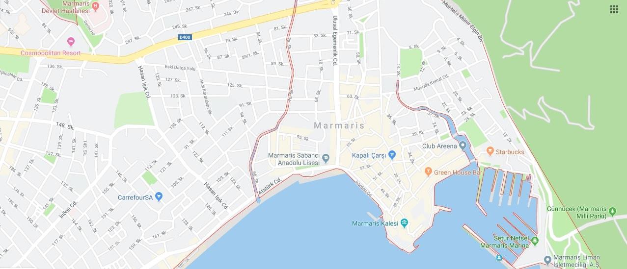 راهنمای سفر به مارماریس