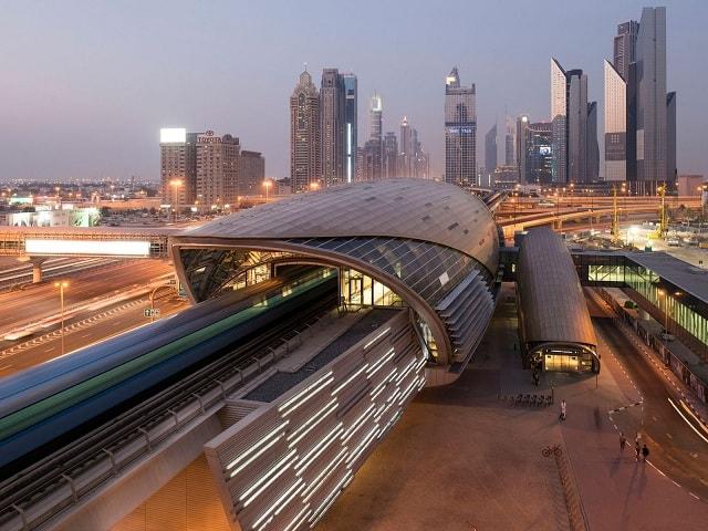 مترو در دبی