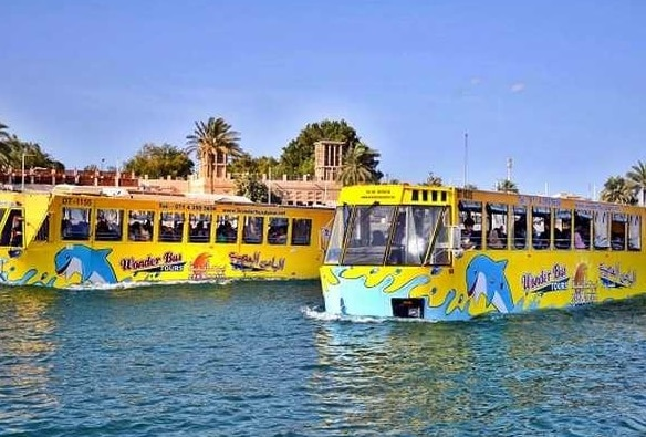 اتوبوس های آبی در دبی