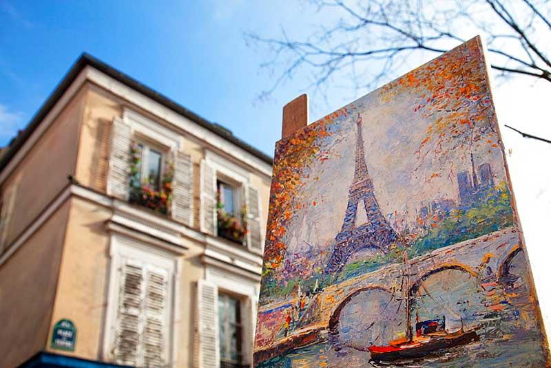 تابلوهای فرانسوی