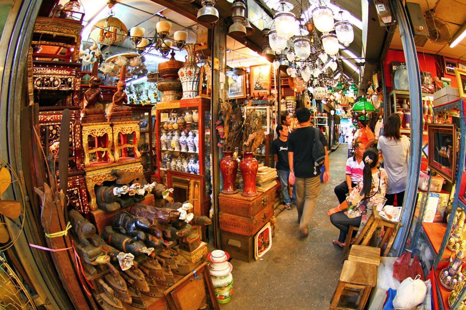 بازارهای معروف بانکوک