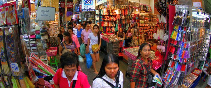 مغازه ها در بانکوک