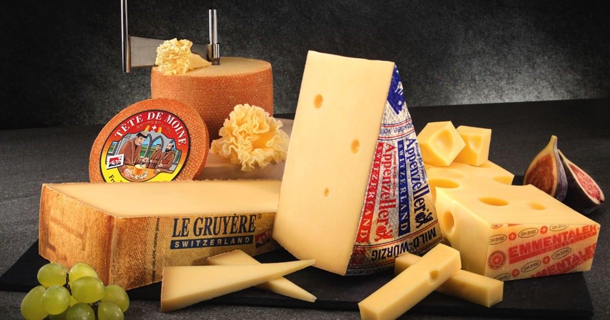 پنیر در سوئیس