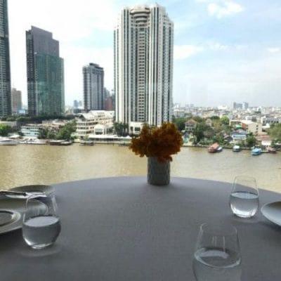 رستوران غذا در بانکوک