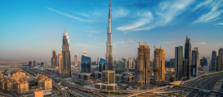 برج خلیفه در دبی